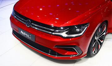 北京车展:上海大众新车比CC更漂亮 价格便宜近一半必热销