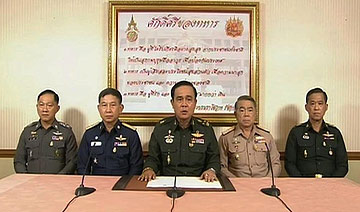泰国军队政变前后照片