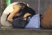 港女星与30岁男子厕所野战被拍