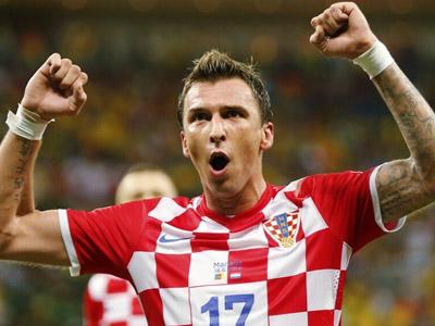 曼朱基齐抢点补射梅开二度 克罗地亚4-0横扫喀麦隆