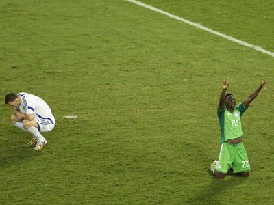 奥德姆温吉插上轻松破门 尼日利亚1-0领先波黑