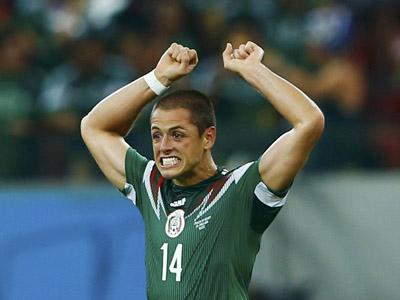小豌豆后门柱冲顶破门 墨西哥3-0克罗地亚