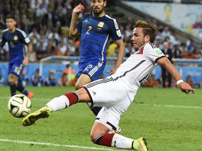 世界杯决赛 格策进球德国1-0阿根廷 精华