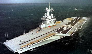 史上十大最失败军事发明:法航母耗资138亿美元航速极慢