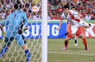 小组赛第3轮 中国2-1朝鲜