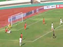 U23亚预赛 国奥5-0新加坡