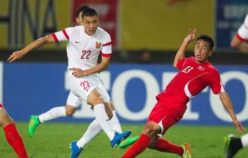 国足2-0朝鲜