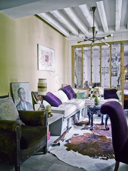 波西米亚风格客厅设计
