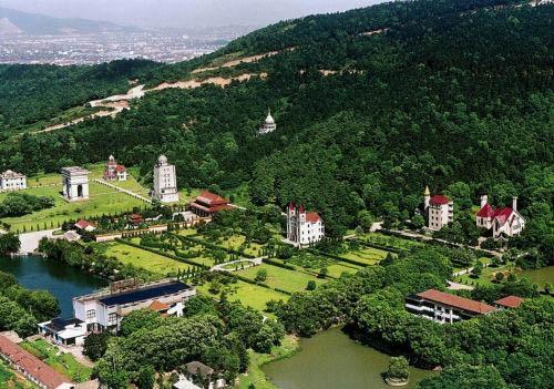 这就是华西村的农民别墅 奢华媲美皇宫图片