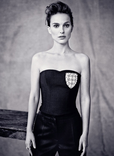 娜塔莉 波特曼 Dior Magazine 高贵冷艳图片
