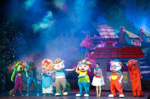 六一大剧院演出丰富 儿童剧卡享优惠