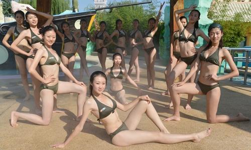 东方丽人职业模特大赛外景拍摄刺激十足