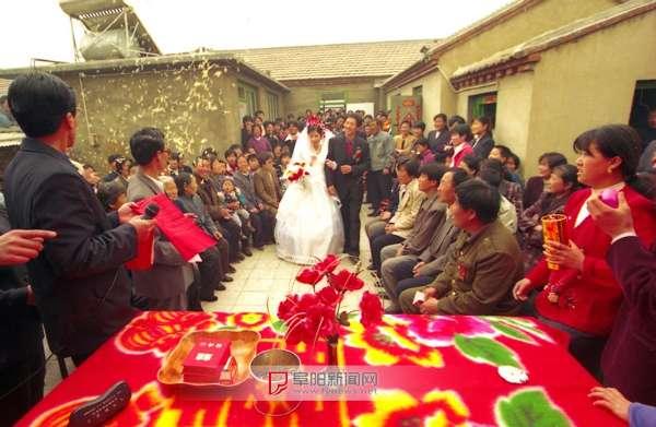 阜阳农村婚礼今昔
