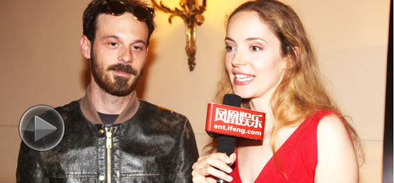 65届戛纳电影节 凤凰娱乐特邀主播Laura对话《温柔的杀戮》男演员