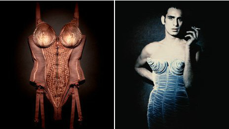 Madonna bra will be on display in London when global tour once wear (pictured),