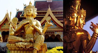 泰国和尚用草棍重击信徒头部为其祈福引争议