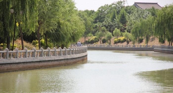 京杭大运河聊城段是古代会通河的一部分.位于聊城市下辖的阳谷县、