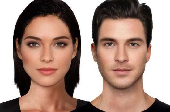 英国专家用软件合成世界最美女人和最帅男人图片