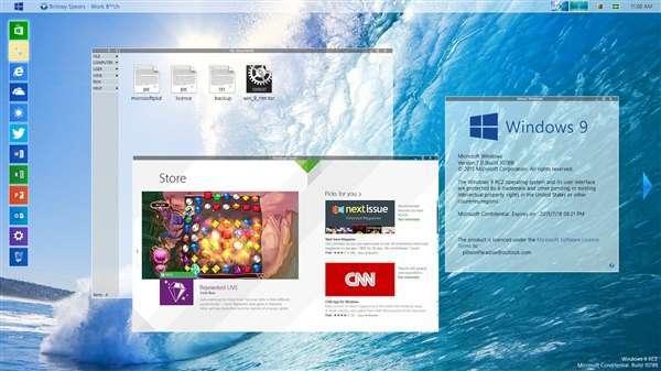 这个Windows 9操作系统很特别!没有之一