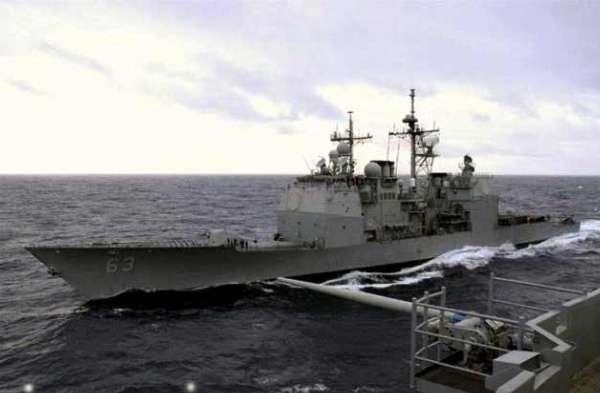中美军舰对峙内幕曝光:美舰闯入中国航母编队内防区