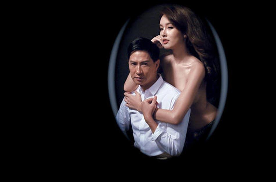 张家辉与泰国最美变性人半裸拍写真 Poy求清场图片