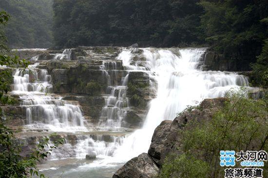 新乡宝泉 风景区 十大最美 瀑布 河南频道 凤凰高清图片