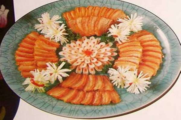豫菜名菜上的知天际馔--炸紫酥肉盅菜谱电炖1081食谱图片