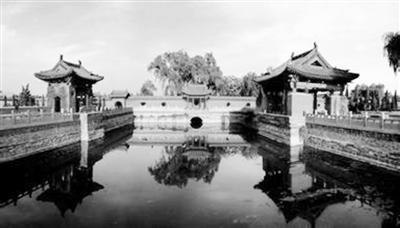 探访河南传统古建筑 河南济渎庙再现历史雄姿