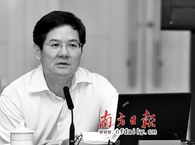 徐少华任广东副省长 林木声免副省长 原广东省