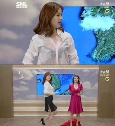 韩女星朴恩智穿透视装出风头 曾在台上撕裙(图)