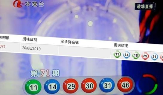 香港亚视误报六合彩中奖号码 遭网友炮轰