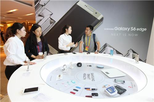 亚洲博鳌论坛 三星首次展示智能健康新技术