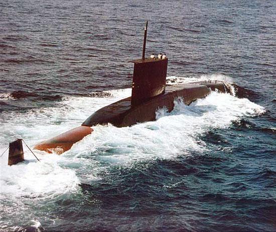 """印度现役209潜艇成台湾""""潜购案""""首选目标"""