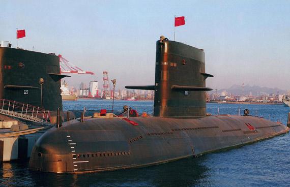 中俄军演中国潜艇充当蓝军