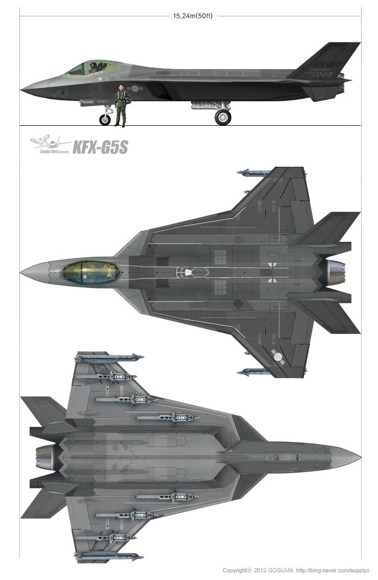 �zf�_韩国五代机方案全解析 分别模仿f-35歼-20和yf-23(组图)