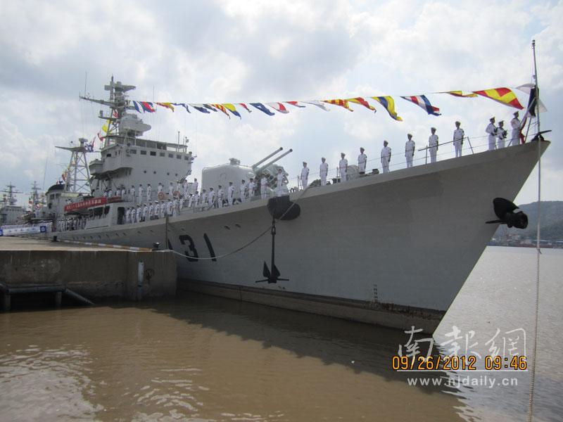 东海舰队第1艘驱逐舰移交海监部门 将改装继续服役