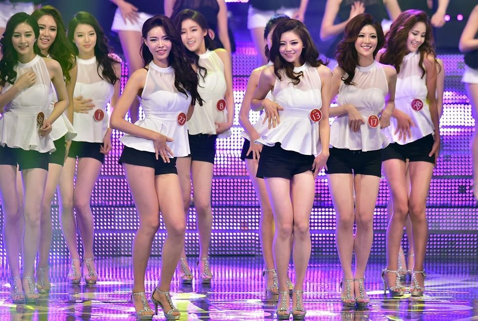 韩国小姐选美22岁大学生夺冠图片