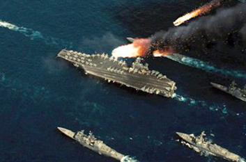 中国拟3年造千枚机动导弹 饱和攻击美航母