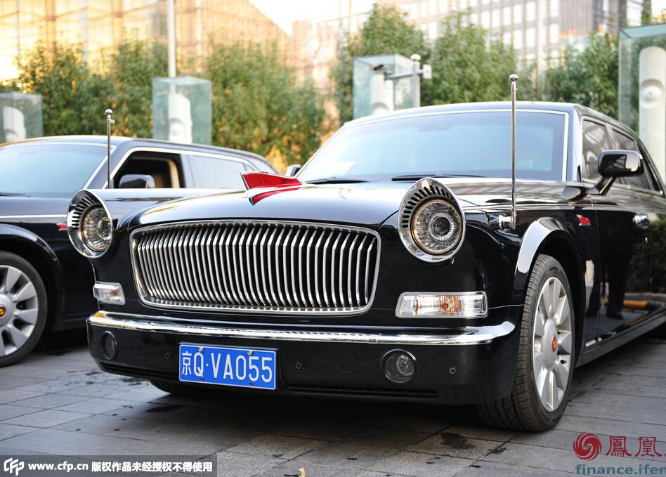 2014中国apec峰会:600万元红旗l5国宾车现身(图)