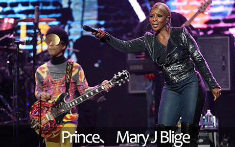 Mary J Blige、 Prince