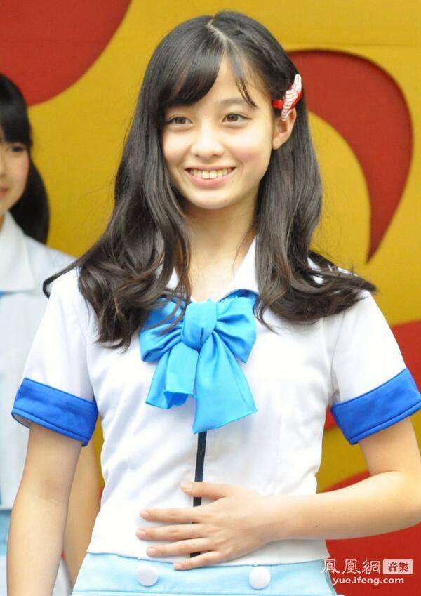 日本天使般三次元偶像 清纯14岁小萝莉桥本环奈走红网络 力压国民偶图片