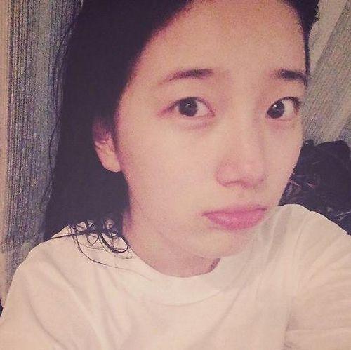 miss A成员秀智自曝素颜照 粉丝:姐姐太可爱了(图)