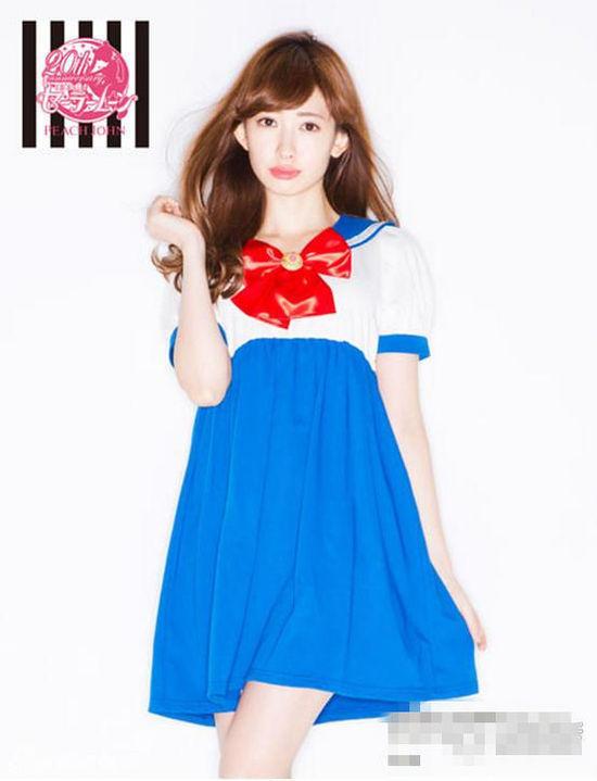 AKB48小嶋阳菜拍杂志性感写真 被指超级色情