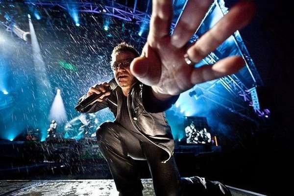 U2主唱波诺遭遇骑行时发生事故伤势严重(图)