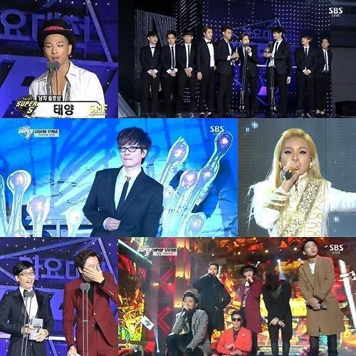 EXO成SBS歌谣战大赢家 尼坤登台主持