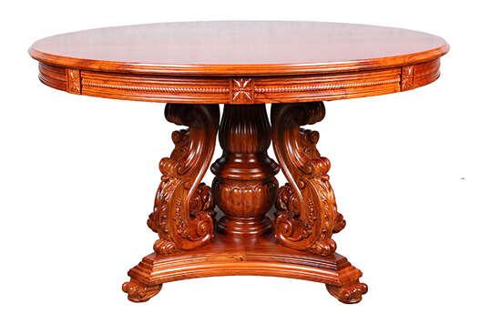 周家公馆:专精欧式红木家具