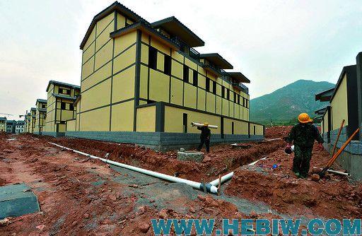 淇县灵山特色新型农村社区一期楼房主体工程完工