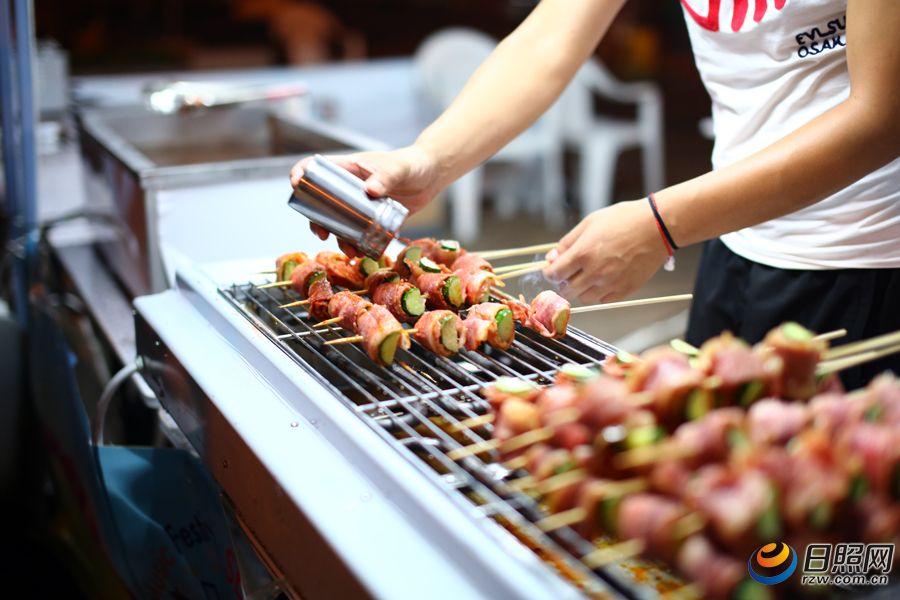 台湾海洋国际音乐节上的a海洋日照美食特色美食宾川广场图片