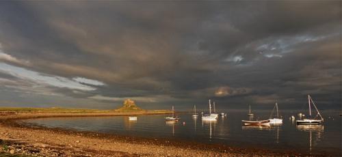 3.林地斯法恩城堡(诺森伯兰海岸)-镜头下的英国最美十大景观