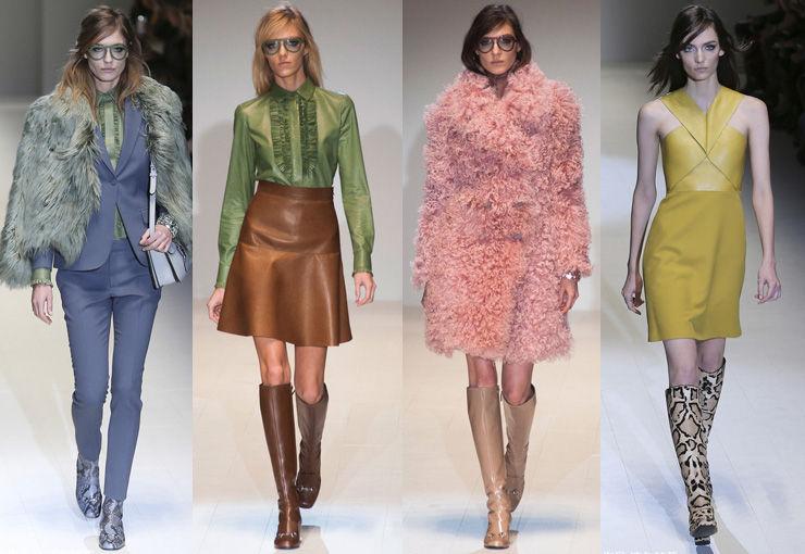 Gucci 2014米兰秋冬发布